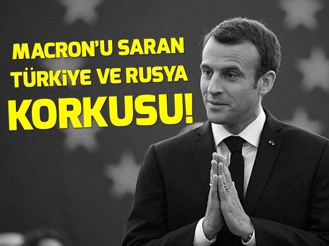 Fransa Cumhurbaşkanı Macron'u saran Türkiye ve Rusya korkusu!