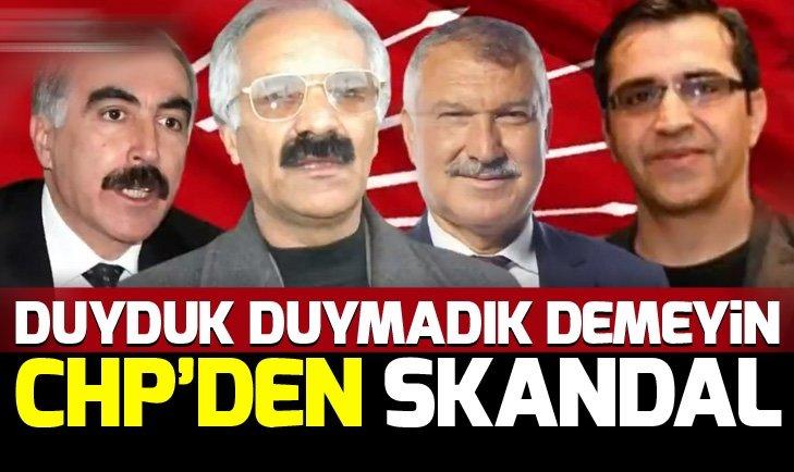 HDP VE PKK ÇİZGİSİNDEKİ BİRÇOK İSİM CHP'DEN ADAY OLDU