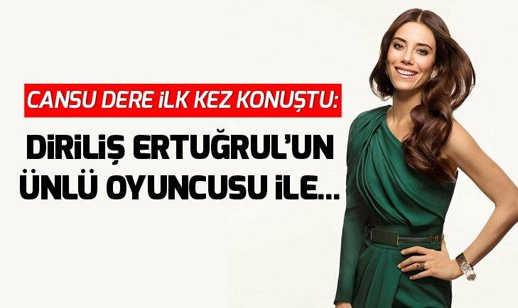 CANSU DERE DİRİLİŞ ERTUĞRUL'UN ÜNLÜ OYUNCUSU İLE...