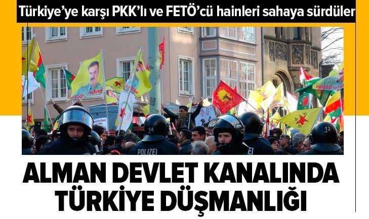 Almanya devlet kanalında Türkiye düşmanlığı yaptı!