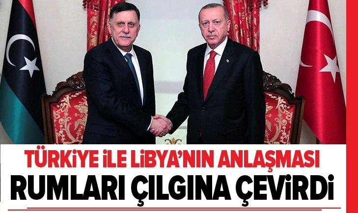 Rum medyasından Türkiye ile Libya anlaşması hakkında yorum: Türkiyenin bölgedeki gücü arttı!