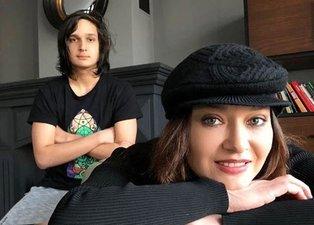 Nurgül Yeşilçay'ın oğlu Osman Nejat ile paylaştığı fotoğraf olay oldu