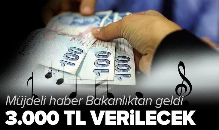 Kültür ve Turizm Bakanlığı duyurdu: Müzik emekçilerine 3.000 TL yardım