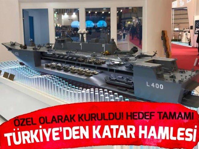 TÜRKİYE'DEN KATAR HAMLESİ! ÖZEL OLARAK KURULDU