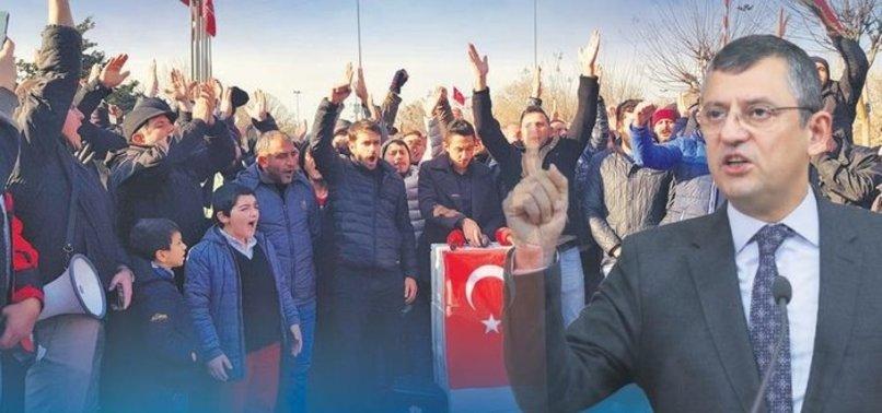 VİCDANSIZ ÖZGÜR ÖZEL'E SUÇ DUYURUSU!