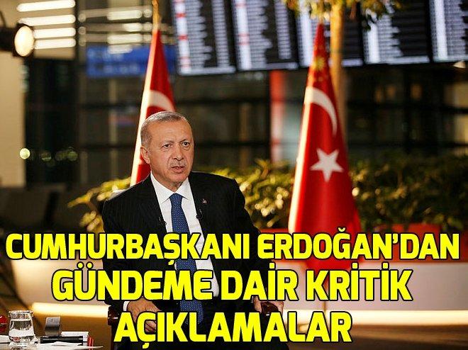 Cumhurbaşkanı Erdoğan A Haber canlı yayınında konuştu