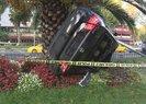 Fatih'te kaza yapan aracın hız ibresi 130 km'de takılı kaldı