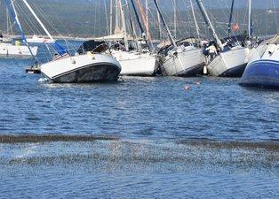 Son dakika: İzmir'de korkutan görüntü! Deniz suları çekildi...