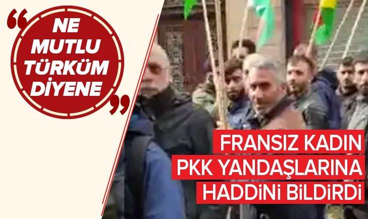 PKK YANDAŞLARINA NE MUTLU TÜRKÜM YANITI!