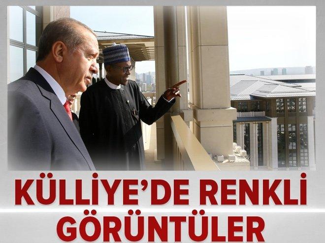Erdoğan, Buhari'yi böyle ağırladı