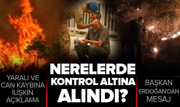 Türkiye genelindeki yangınlarda son durum ne?