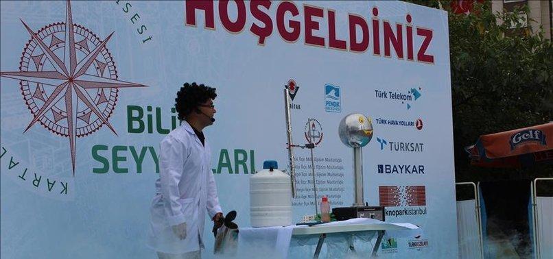 'BİLİM SEYYAHLARI' FESTİVALİ YARIN BAŞLAYACAK