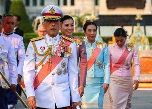 Tayland Kralı Maha Vajiralongkorn'un 20 cariyesiyle birlikte coronavirüs karantinasına girdi
