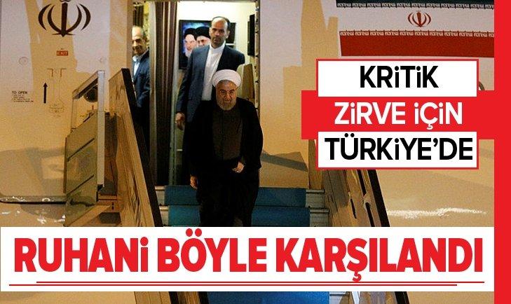 HASAN RUHANİ TÜRKİYE'YE GELDİ
