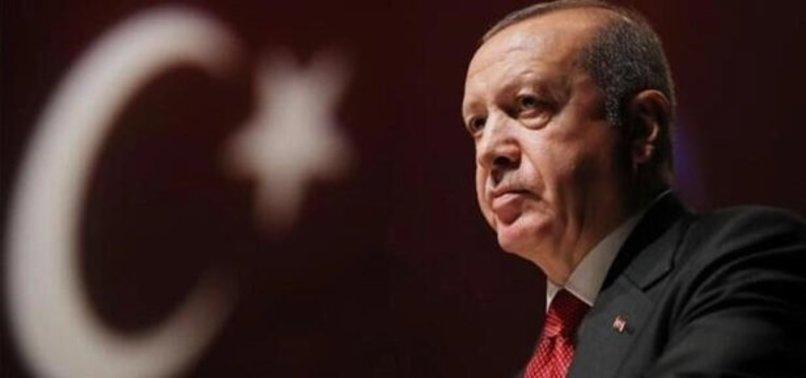 Başkan Recep Tayyip Erdoğan, şehit Jandarma Uzman Çavuş Erkan Erdem'in ailesine başsağlığı mesajı gönderdi