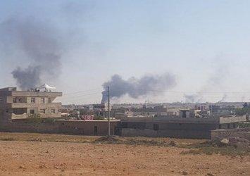 Son dakika: Tel Abyad'da yüklü miktarda patlayıcı ele geçirildi