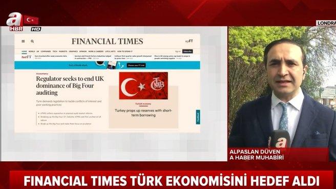 İngiliz basınından Türk ekonomisine saldırı!