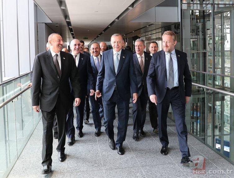 NATO ZİRVESİNDEN SAMİMİ KARE...