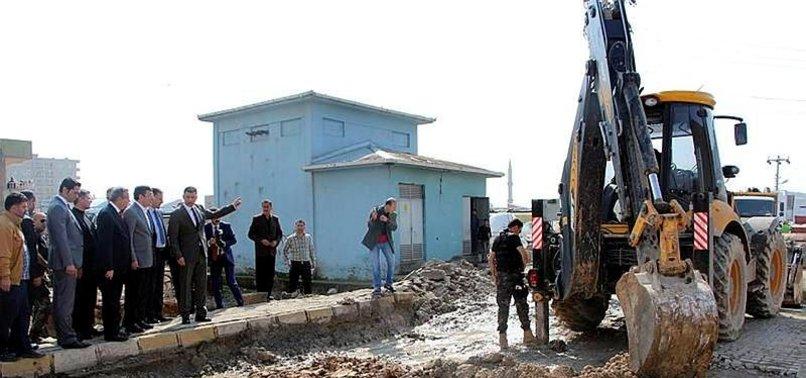 DOĞU'DA PKK ÇUKURA GÖMÜLDÜ