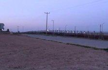 YPG\PKK halı sahaya havan mermisi attı