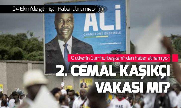 ALİ BONGO ONDİMBA'DAN SES SEDA YOK!