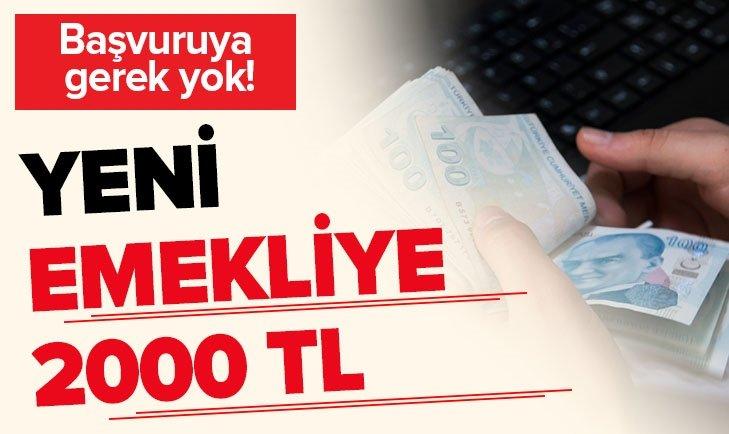 EMEKLİYE 2000 TL İKRAMİYE İÇİN MAYIS DETAYI!