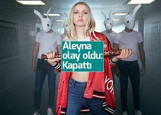 Aleyna Tilki'den hayranlarını şoke eden karar: Kapattı