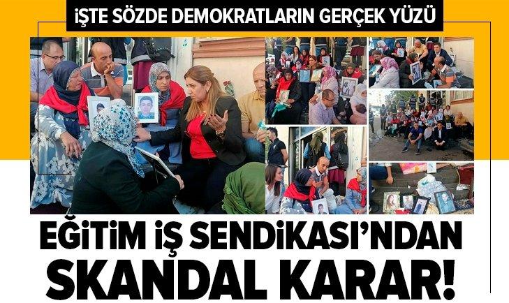 EĞİTİM İŞ SENDİKASI'NDAN SKANDAL KARAR!