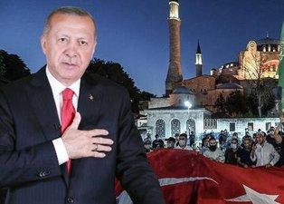 Dünya Ayasofya'yı konuşuyor! Alman basını yazdı: Erdoğan İstanbul'un ikinci Fatih'i