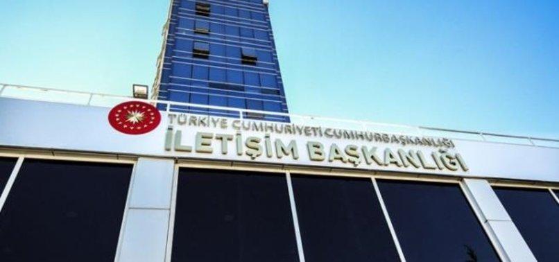 İLETİŞİM BAŞKANLIĞI'NDAN SON DAKİKA 'VETO' AÇIKLAMASI