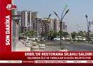 Erbilde Türk Başkonsolosluğu çalışanlarının bulunduğu restorana saldırı | Video