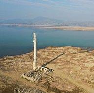 Tahtalı Barajı Nerede | Baraj suları çekilince ortaya çıktı! İnanılmaz görüntüler
