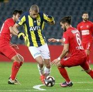Fenerbahçe - Ümraniyespor maçından kareler