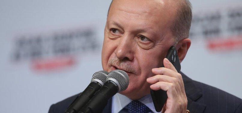Son dakika: Başkan Erdoğan Ukrayna Devlet Başkanı Zelenskiy ile telefonda görüştü.
