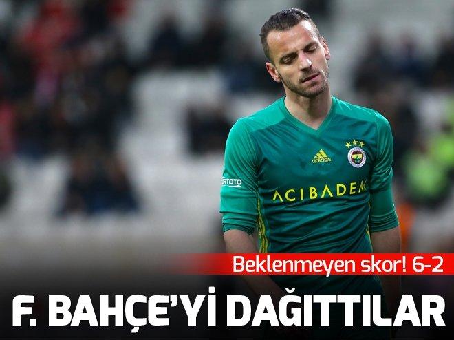 Fenerbahçe'yi dağıttılar! Tarihi fark...