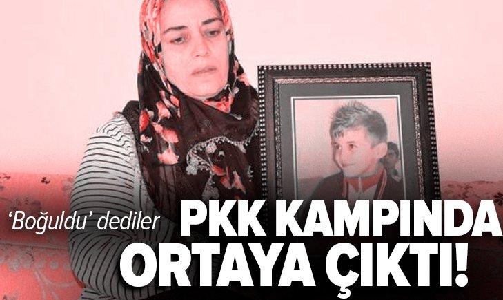 Zap'ta boğuldu dedikleri Hamza Adıyaman PKK kampında çıktı