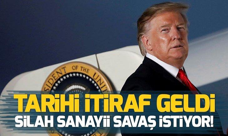 DONALD TRUMP'TAN TARİHİ İTİRAF GELDİ!