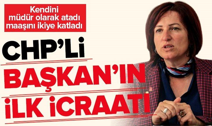 CHP'Lİ BAŞKAN KENDİNİ MÜDÜR OLARAK ATADI!
