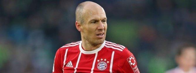 Bayern Münih'te Robben depremi!
