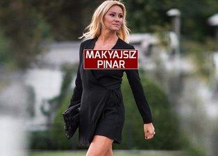 Pınar Altuğ makyajsız haliyle dikkat çekti