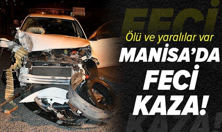 Manisa'da feci kaza: 2 kişi öldü, 4 kişi yaralı