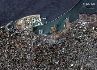 Beyrut'ta dünyayı sarsan patlama! İşte faciaya neden olan 'yüzen bomba'nın bilinmeyen hikayesi