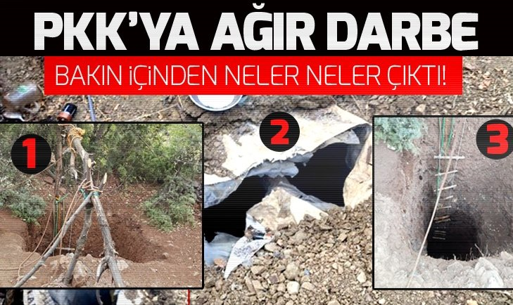 PKK'YA AĞIR DARBE: BAKIN İÇİNDEN NELER NELER ÇIKTI!