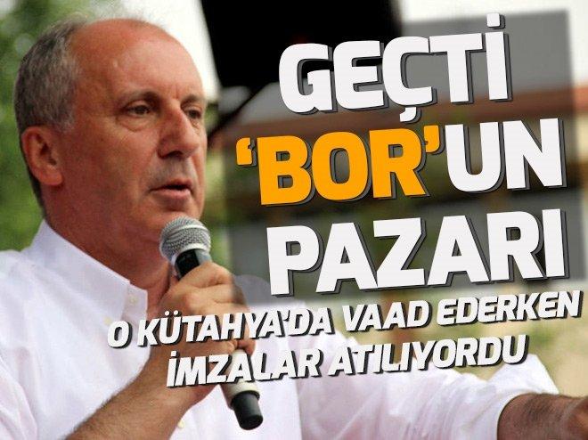 İNCE'DEN AKILLARA ZARAR BOR MADENİ VAADİ!