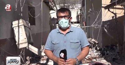 SON DAKİKA | A Haber Afrin'de PYD-PKK tarafından vurulan hastaneyi görüntülerdi