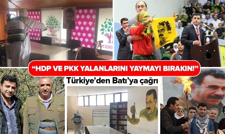 HDP ve PKK'nın yalanlarını yaymayı bırakın!
