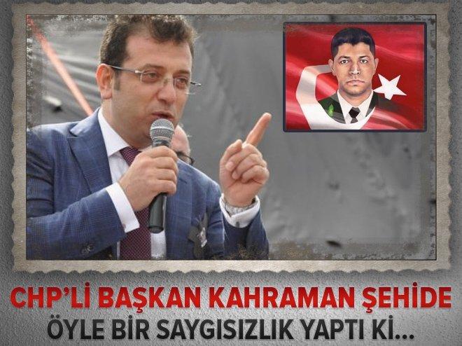 CHP'Lİ BAŞKANIN 'ÖMER HALİSDEMİR' RAHATSIZLIĞI