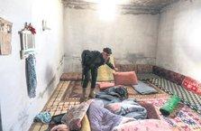 Afrin'de ev ev temizlik