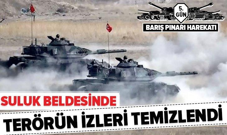 Barış Pınarı'nda önemli gelişme! terörden temizlendi