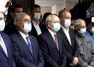 Kemal Kılıçdaroğlu ve Muharrem İnce, Bekir Coşkunun cenazesinde yan yana saf tuttu ama konuşmadı
